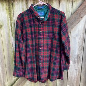 Pendleton Wool Flannel LS Plaid Button Down